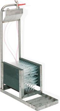 Image de Lave botte à eau à aspiration 5 brosses