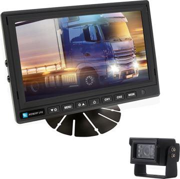 Image de Kit de rétrovision écran 7 pouces numérique - Caméra IP69K